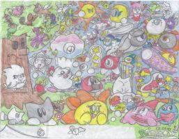 Kirby's Crew (Unfinished, 2010) by kirpow