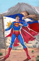 Superman Davao Eagle by jovigolf