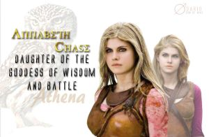 Annabeth Chase - The Daughter of Athena by SonofWar001