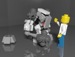 Lego Pieces by laperen