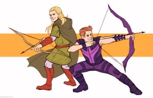 Archery Bros by teaturtle