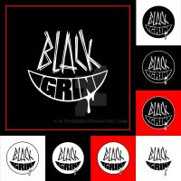 commission: Black Grin logo pack by n-th-green