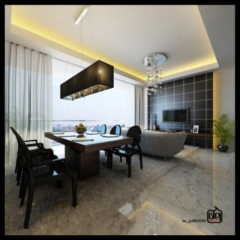 Living Room Conceptual by deguff