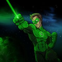 Green Lanterns Light by AIBryce