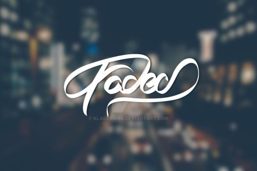 T-shirt Design: Faded by kladesigns