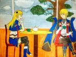 (Colored) Tea Time by Cardlover95