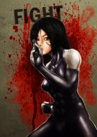 battle angel alita by NaaN-AnA