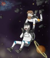 Sips and Sjin in space by TheGreatJudge