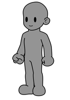 Paper Mario Human Base- Male by Cross-Cresent-Creed