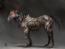 Undead Horse by psdeluxe