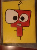 robot painting by thecrass1