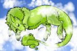 Sleeping Chartreuse by Butterfly-Empress7