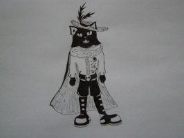 Goth!Puss in Boots by KanaGo