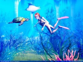 Staci Darling turtle research by rlcwallpapers