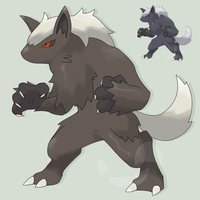 Fakemon Regolupe NightfallForm by mssingno