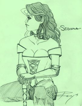10 Sketches - Sedona by Drawingremy