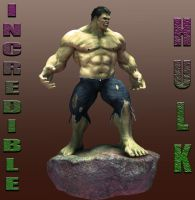 Hulk Sculpt by lberry1976