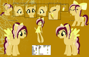Hushed Harmony ~Official Character Ref~ by Winter-Wondermare