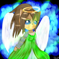 CG(2013): Green angel by lifegiving