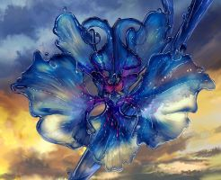 Chaotic TCG: Water Orchid by stonewurks