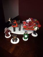 Miniatures for Christmas Train by ClayfrommyHeart
