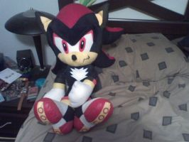 shadow plush toy by sonicfan40