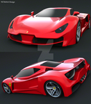 Ferrari F70 by trebeisChrisH