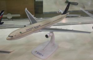 Saudia Airbus A330 Model by rlkitterman