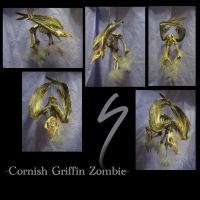 Cornish Griffin Zombie by systemcat