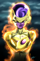 Frieza's new form by pyropete03
