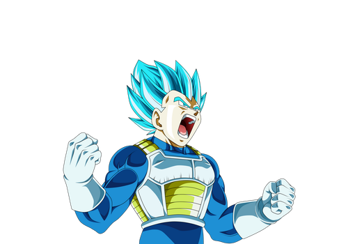 Vegeta Ssj Blue(Ending) V.1 by Luciano160