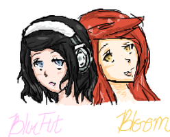 Bloom and I by xBlueFootx