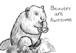 Beavers are Awesome by JekHazit