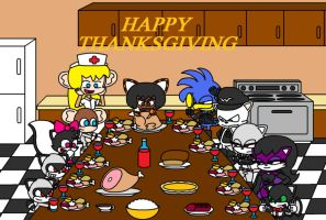 Thanksgiving Feast by Animekid0839