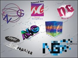 Neel_Graphics_Logos by dimplegal