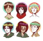 Shingeki no Flower Crown by cookiekhaleesi
