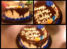 Happy Birthday Daddy by garfey