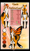 Ciera YellowLeaf Reference Sheet by Gradiewoof