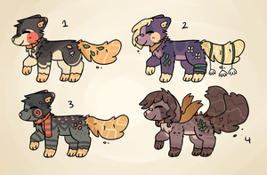 Waterleaf Pup Auction Batch // CLOSED by catpaths