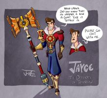 Jayce, the Defender of Tomorrow by EnciferART