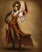 Mystic Gunslinger by Phurry