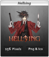 Hellsing - Anime Icon by DevilL-Dante