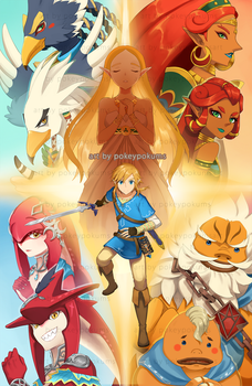 Breath of the Wild by PokeyPokums