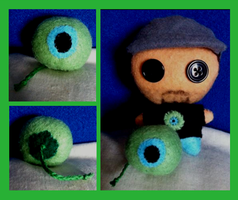 Youtubers - Septic Eye Sam Plushie by Jack-O-AllTrades
