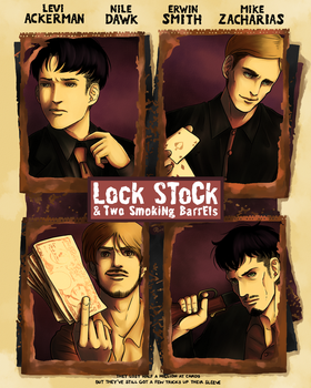 Lock, Stock and Two Smoking Barrels x SnK by fellow-traveller