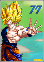 Goku - Dragon Ball Xenoverse by Miguele77