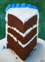 Chocolate Cake by paintintheneck