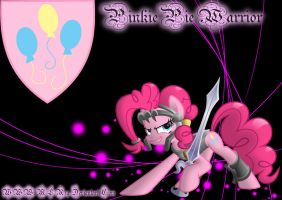 PinkiePie Warrior by MLR19