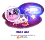 Day 1389. Milky Way by Cryptid-Creations