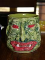 RED EYED GREEN OGRE by CorazondeDios